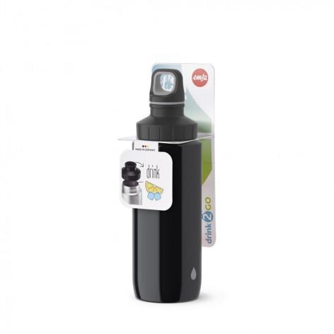 Бутылка для воды 0,6 л Emsa 518353 черная - emsa – фото 5