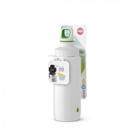 Бутылка для воды 0,6 л Emsa 518356 белая - emsa – фото 5