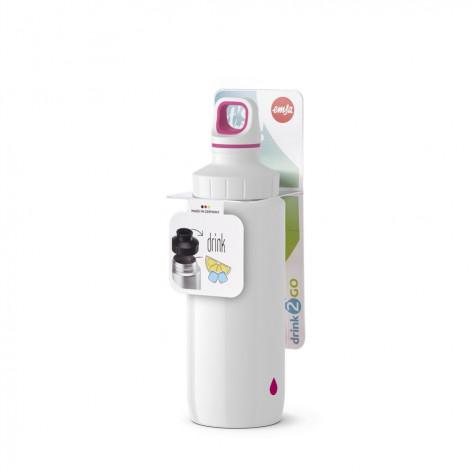 Бутылка для воды 0,6 л Emsa 518354 белая - emsa – фото 5