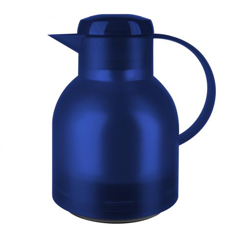 Термос-чайник EMSA Samba 1 л из пластика со стеклянной колбой, с Emsa K3030312 - emsa – фото 1