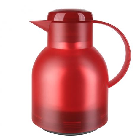 Термос-чайник EMSA Samba 1 л из пластика со стеклянной колбой, к Emsa K3031312 - emsa – фото 1