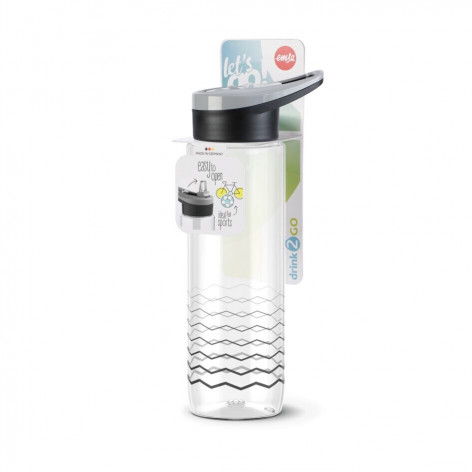 Бутылка для воды EMSA Drink2Go N3031100 0,7 л с узором - emsa – фото 4