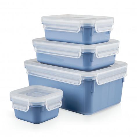 Набор контейнеров 4 шт. EMSA CLIP&CLOSE COLOR N1030800 - emsa – фото 2