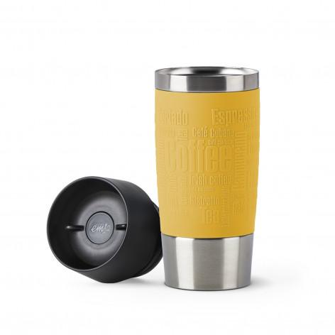 Термокружка 0,36 л желтая EMSA TRAVEL MUG N2012800 - emsa – фото 2
