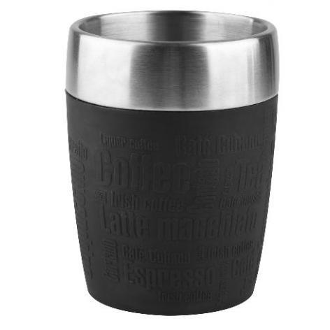 Термостакан EMSA TRAVEL CUP, 0,2 л, чёрный Emsa 514514 - emsa – фото 1