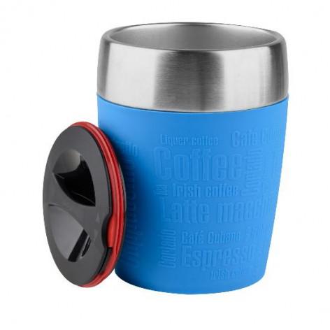 Термостакан EMSA TRAVEL CUP, 0,2 л, синий Emsa 514515 - emsa – фото 2
