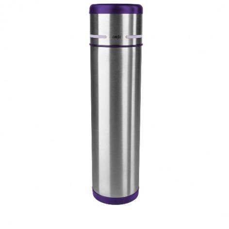 Термос EMSA MOBILITY, 1 л, фиолетовый и стальной Emsa 509228 - emsa – фото 1