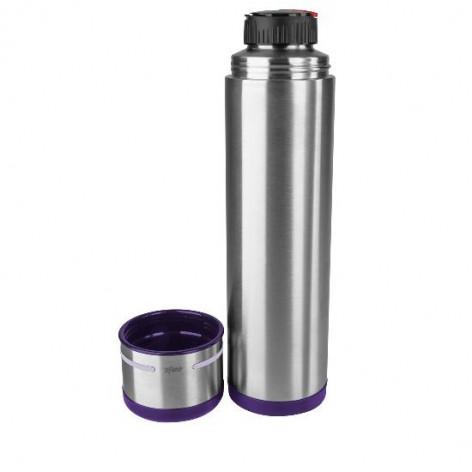 Термос EMSA MOBILITY, 1 л, фиолетовый и стальной Emsa 509228 - emsa – фото 2