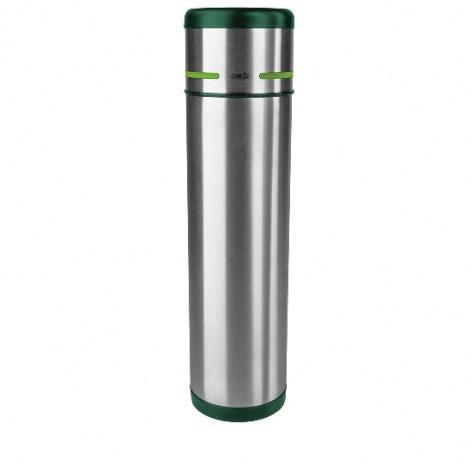 Термос EMSA MOBILITY, 1 л, зелёный и стальной Emsa 512961 - emsa – фото 1