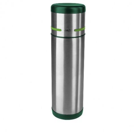 Термос EMSA MOBILITY, 0,7 л, зелёный и стальной Emsa 512960 - emsa – фото 1
