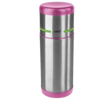 Термос EMSA MOBILITY KIDS, 0,35 л, розовый с зелёным Emsa 515863 - emsa – фото 1