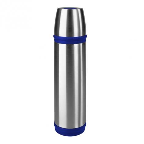 Термос EMSA CAPTAIN, 0,7 л, серебристо-синий Emsa 502473 - emsa – фото 1