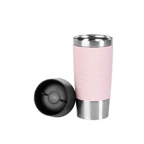 Термокружка EMSA TRAVEL MUG WAVES, розовая, 0,36 л Emsa N2010600 - emsa – фото 2