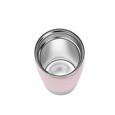 Термокружка EMSA TRAVEL MUG WAVES, розовая, 0,36 л Emsa N2010600 - emsa – фото 4