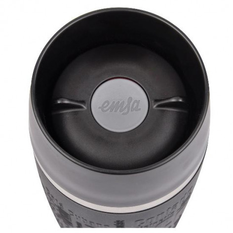 Термокружка EMSA TRAVEL MUG GRANDE, 0,5 л, чёрная Emsa 515615 - emsa – фото 3
