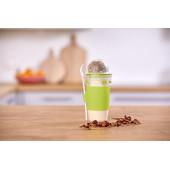 Кружка EMSA CLIP & GO YOGHURT MUG, зеленая Emsa 0,45 л N1071400 - emsa – фото 5
