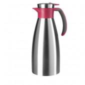 Термос-чайник EMSA SOFT GRIP, 1,5 л, малина и сталь Emsa 514501 - emsa – фото 1