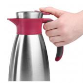 Термос-чайник EMSA SOFT GRIP, 1,5 л, малина и сталь Emsa 514501 - emsa – фото 5