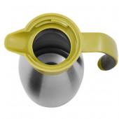 Термос-чайник EMSA SOFT GRIP, 1,5 л, зелёный и сталь Emsa 514502 - emsa – фото 2