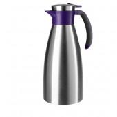 Термос-чайник EMSA SOFT GRIP, 1,5 л, ежевика и сталь Emsa 514500 - emsa – фото 1