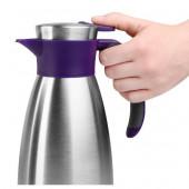Термос-чайник EMSA SOFT GRIP, 1,5 л, ежевика и сталь Emsa 514500 - emsa – фото 5
