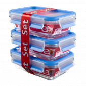 Набор из 3 контейнеров EMSA CLIP&CLOSE GLASS стекло, 0,5 л Emsa 514170 - emsa – фото 2