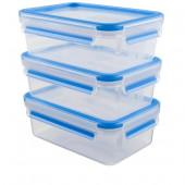 Набор из 3 контейнеров EMSA CLIP&CLOSE, 1 л Emsa 508558 - emsa – фото 1