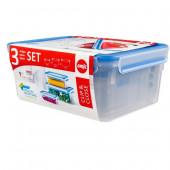 Набор из 3 контейнеров EMSA CLIP&CLOSE, 1, 2,3 и 3,7 л Emsa 508567 - emsa – фото 3