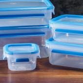 Набор из 5 контейнеров Emsa CLIP&CLOSE 512753 - emsa – фото 2