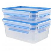Набор из 5 контейнеров Emsa CLIP&CLOSE 512753 - emsa – фото 4