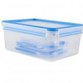 Набор из 5 контейнеров  0,15, 0,25, 0,55, 1 и 3 л Emsa CLIP&CLOSE 508568 - emsa – фото 2