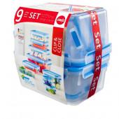Набор из 9 контейнеров EMSA CLIP&CLOSE Emsa 515481 - emsa – фото 3