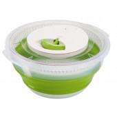 Сушилка для салата EMSA BASIC складная, 4 л, зелёная Emsa 512992 - emsa – фото 2