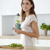 Бутылка для воды 0,7 л Emsa N3100300 зеленая - emsa – фото 4