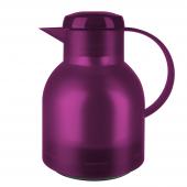 Термос-чайник EMSA Samba 1 л из пластика со стеклянной колбой, р Emsa K3037312 - emsa – фото 1
