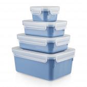 Набор контейнеров 4 шт. EMSA CLIP&CLOSE COLOR N1030800 - emsa – фото 1