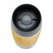 Термокружка 0,36 л желтая EMSA TRAVEL MUG N2012800 - emsa – фото 4
