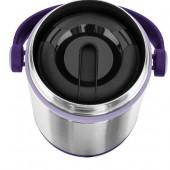 Термос для ланча EMSA MOBILITY, 1,2 л, фиолетовый и стальной Emsa 509233 - emsa – фото 2