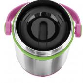 Термос для ланча EMSA MOBILITY KIDS, 0,65 л, розовый с зелёным Emsa 515861 - emsa – фото 2