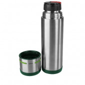 Термос EMSA MOBILITY, 0,7 л, зелёный и стальной Emsa 512960 - emsa – фото 2
