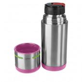Термос EMSA MOBILITY KIDS, 0,35 л, розовый с зелёным Emsa 515863 - emsa – фото 2