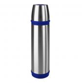Термос EMSA CAPTAIN, 0,5 л, серебристо-синий Emsa 502472 - emsa – фото 1